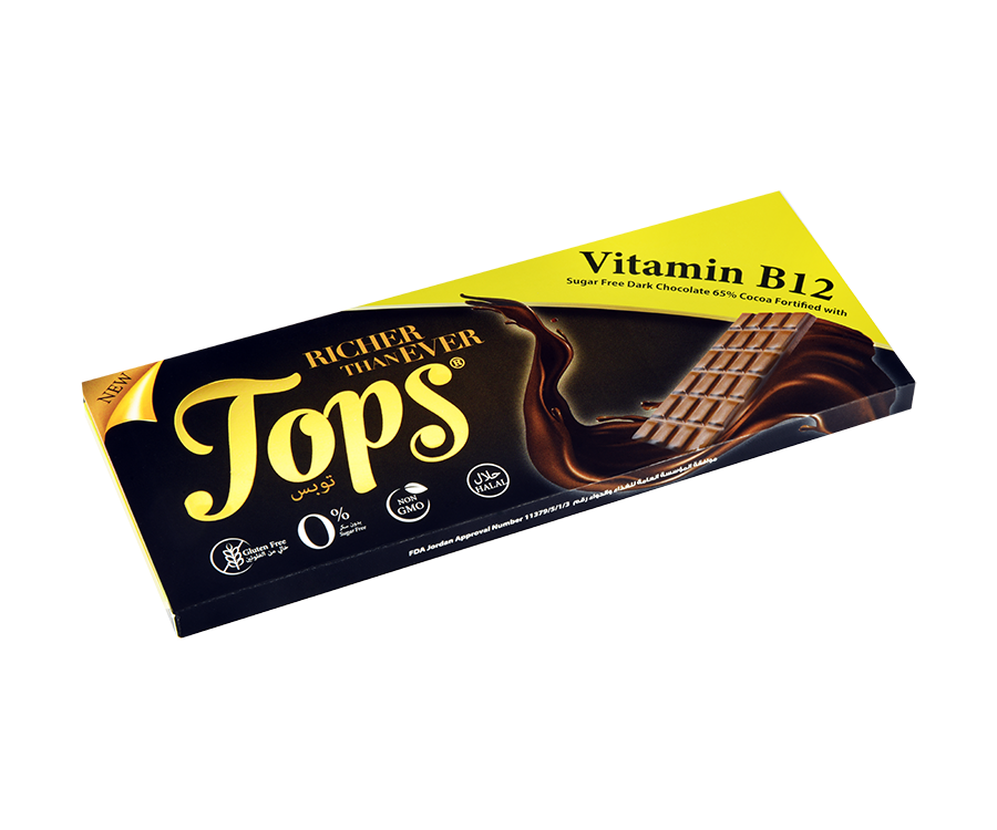 Tops b12 Dark Chocolate